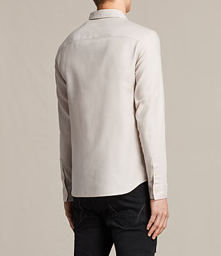 Men's Topanga Shirt (ECRU WHITE) - product_image_alt_text_5