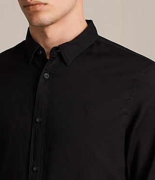 Mens Topanga Shirt (Black) - product_image_alt_text_2