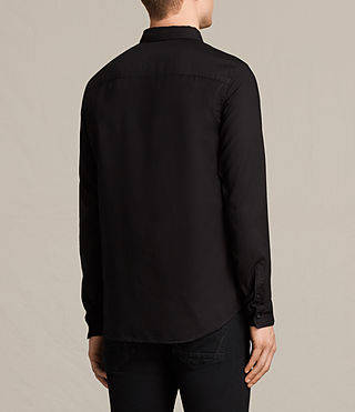 Mens Topanga Shirt (Black) - product_image_alt_text_4