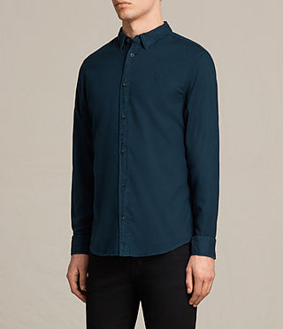 Hombre Topanga Shirt (Baltic) - product_image_alt_text_3