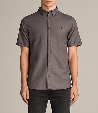 Mens Hungtingdon Short Sleeve Shirt (Cannon) - product_image_alt_text_1
