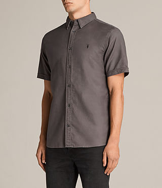 Mens Hungtingdon Short Sleeve Shirt (Cannon) - product_image_alt_text_3