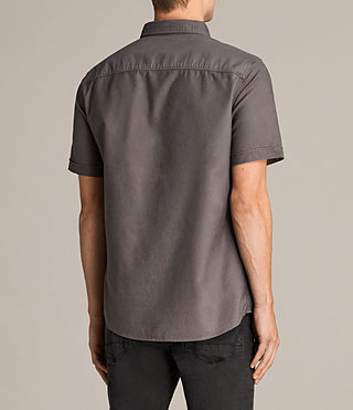 Hombres Hungtingdon Short Sleeve Shirt (Cannon) - Image 4