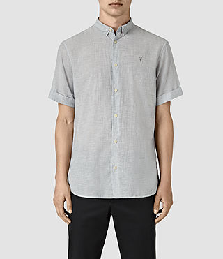 Hombre Morro Half Sleeve Shirt (Black) - product_image_alt_text_1