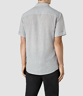 Hombre Morro Half Sleeve Shirt (Black) - product_image_alt_text_3