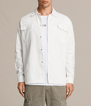 Mens Revolution Shirt (Vintage White) - product_image_alt_text_2