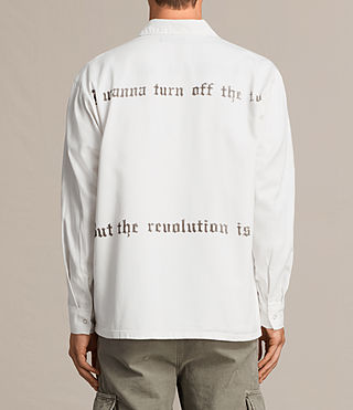 Men's Revolution Shirt (Vintage White) - product_image_alt_text_3