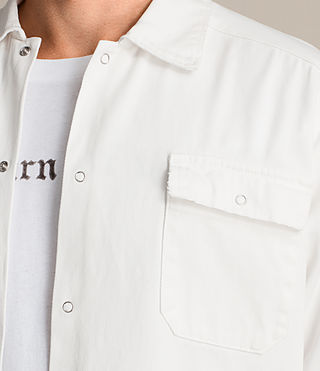 Mens Revolution Shirt (Vintage White) - product_image_alt_text_4