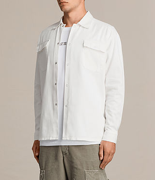 Mens Revolution Shirt (Vintage White) - product_image_alt_text_5