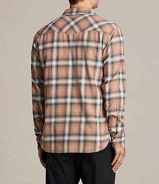Mens Wyoming Shirt (CLAY RED) - product_image_alt_text_4