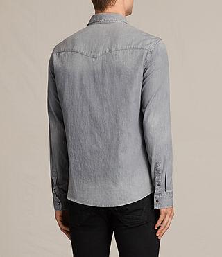 Men's Roxon Shirt (Light Grey) - product_image_alt_text_4