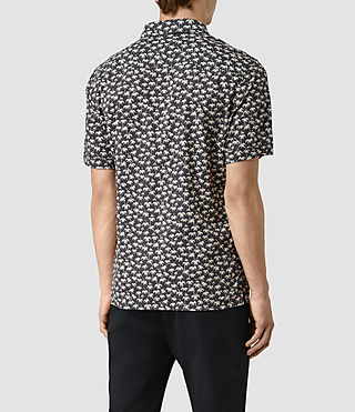 Mens Salix Short Sleeve Shirt (Washed Black) - product_image_alt_text_4