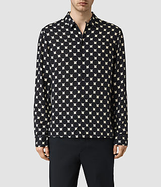 Hommes Inkblot Shirt (INK NAVY) -
