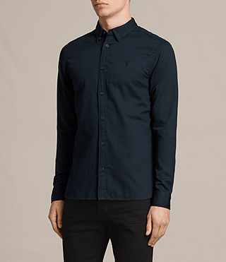 Mens Westlake Shirt (INK NAVY) - Image 3
