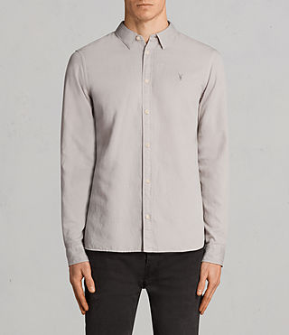 Men's Westlake Shirt (Pebble Grey) - Image 1