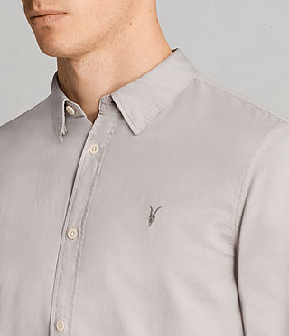 Men's Westlake Shirt (Pebble Grey) - Image 2