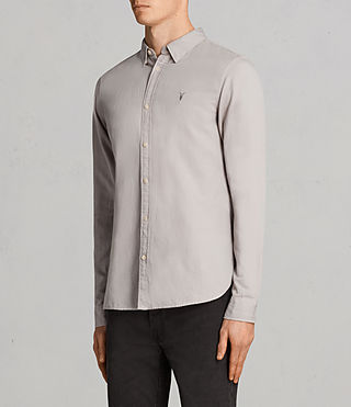 Men's Westlake Shirt (Pebble Grey) - Image 3