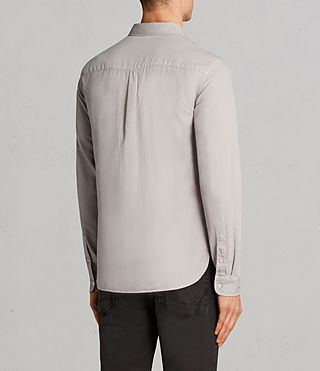 Men's Westlake Shirt (Pebble Grey) - Image 4