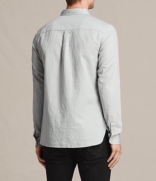 Men's Westlake Shirt (MIRAGE BLUE) - Image 4
