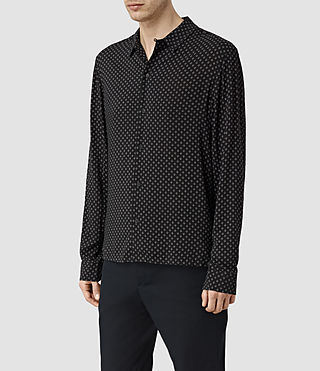 Uomo Spadille Shirt (Washed Black) - product_image_alt_text_3