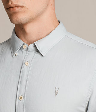Uomo Westlake Short Sleeve Shirt (MIRAGE BLUE) - product_image_alt_text_2