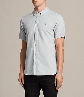 Uomo Westlake Short Sleeve Shirt (MIRAGE BLUE) - product_image_alt_text_3