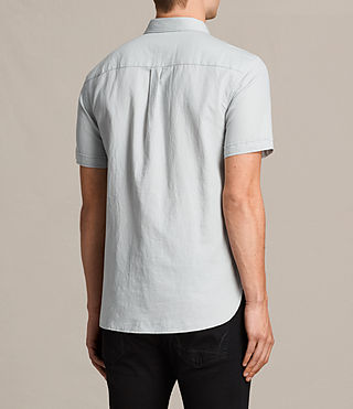 Uomo Westlake Short Sleeve Shirt (MIRAGE BLUE) - product_image_alt_text_4