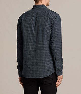 Mens Quarry Shirt (INK NAVY/CHARCOAL) - product_image_alt_text_4