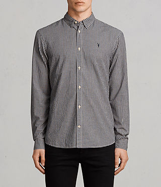 Mens Quarry Shirt (INKNAVY/ECRUWHITE) - Image 1