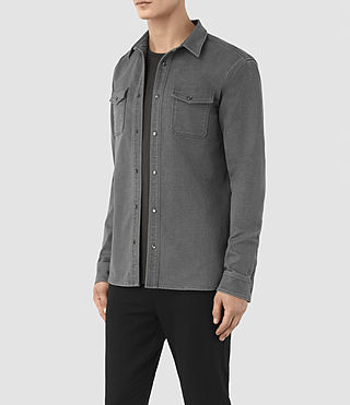 Men's Reverse Shirt (Dark Grey) - product_image_alt_text_2