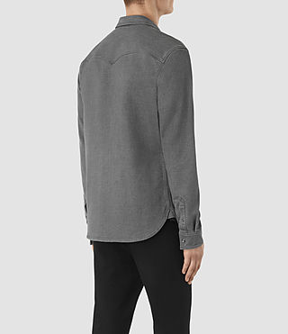 Men's Reverse Shirt (Dark Grey) - product_image_alt_text_3