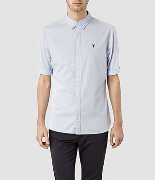 Hombre Redondo Half Sleeved Shirt (Light Blue)