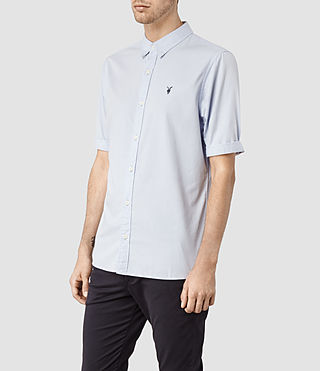 Mens Redondo Half Sleeved Shirt (Airforce) - product_image_alt_text_2