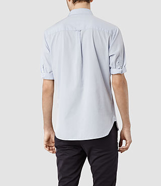Mens Redondo Half Sleeved Shirt (Light Blue) - product_image_alt_text_3