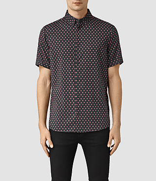 Uomo Kapow Ss Shirt (Washed Black) -