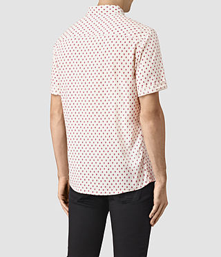 Men's Kapow Short Sleeve Shirt (ECRU WHITE) - product_image_alt_text_4