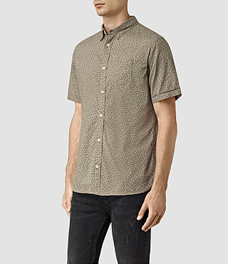 Men's Bulb Short Sleeve Shirt (BALSAM GREEN) - product_image_alt_text_3