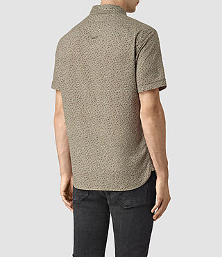 Mens Bulb Short Sleeve Shirt (BALSAM GREEN) - product_image_alt_text_4