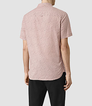 Men's Bulb Short Sleeve Shirt (Sphinx Pink) - product_image_alt_text_3