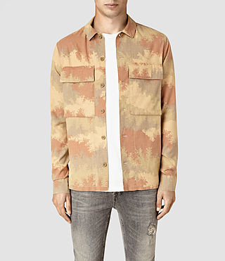 Mens Alamein Shirt (Sand) - product_image_alt_text_1
