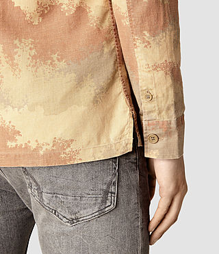 Mens Alamein Shirt (Sand) - product_image_alt_text_2