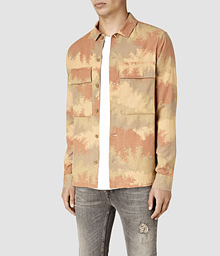 Mens Alamein Shirt (Sand) - product_image_alt_text_3