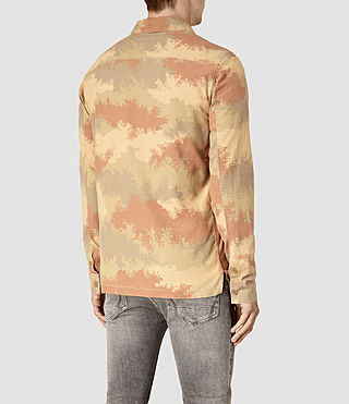 Mens Alamein Shirt (Sand) - product_image_alt_text_4