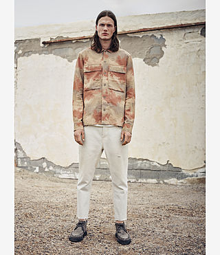 Mens Alamein Shirt (Sand) - product_image_alt_text_5