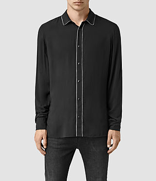 Uomo Buffalo Ls Shirt (Black) -