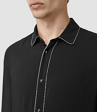 Uomo Buffalo Ls Shirt (Black) - product_image_alt_text_2
