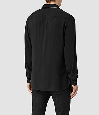 Uomo Buffalo Ls Shirt (Black) - product_image_alt_text_4