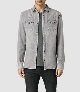 Men's Hanra Shirt (Grey)