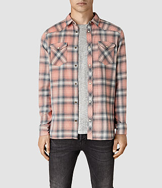 Mens Bridger Shirt (ROSETTE PINK) - product_image_alt_text_1
