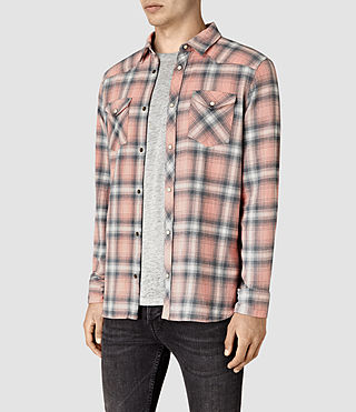 Mens Bridger Shirt (ROSETTE PINK) - product_image_alt_text_3